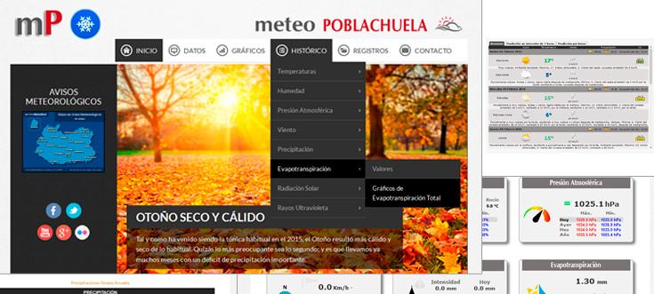 NUEVA WEB DE METEO POBLACHUELA